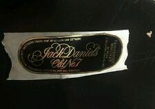 Rare Vintage Jack Daniels Silver Cornet Band Front Label - Whiskey
