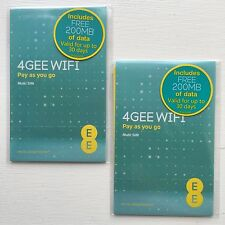 EE PAYG DATA SIM 200MB Pre-Loaded any Tablet, iPad, MiFi 3G 4G Buy 1 Get 1 Free