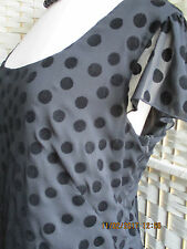 MARKS & SPENCER BLACK EVENING DRESS, SIZE 18, PERFECT CONDITION