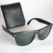 Vintage Ray Ban B&L USA FOLDING WAYFARER II Sunglasses black original authentic
