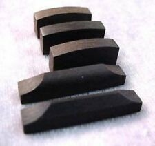 3 VIOLIN NUTS - 2 SADDLES EBONY for luthier