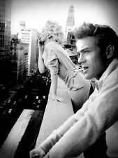 MARILYN MONROE AND JAMES DEAN SUPERSTAR 8X10 PHOTO
