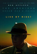 LIVE BY NIGHT MANIFESTO BEN AFFLECK ZOE SALDANA SCOTT EASTWOOD FANNING MILLER