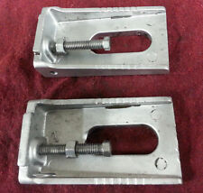 KX125 KAWASAKI 1988 (LOT A) KX 125 88 CHAIN ADJUSTMENT GUIDES AND BOLTS