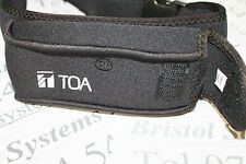 TOA WH-4000P belt pouch for radio microphone transmitter. Aerobic teaching etc