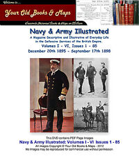 Navy & Army Illustrated 6 Volumes I - VI 85 Issues 1 to 85 1895 to 1898 DVD