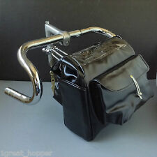 Grand Bois Decaleur Handlebag CLASSIC FRENCH Touring Randonneur Bag + Bracket