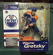 McFarlane NHL Figure Wayne Gretzky Legends Series 1 New Oilers