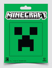 Minecraft Logo & Green Creeper Face Sticker Decal 2-piece Official Licensed 3x3""
