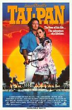 TAI PAN Movie POSTER 27x40 B Bryan Brown Joan Chen John Stanton Kyra Sedgwick
