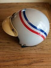 Vintage 1970's Rare REBCOR MOTORCYCLE HELMET Model R-1 Size L Buco Bell Style