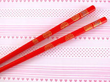 CHINESE RED GOLD COIN WEALTH CHOPSTICKS HAIR STICK PIN JAPANESE BIRTHDAY PARTY