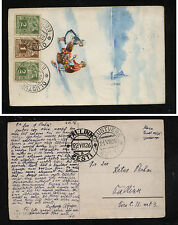 Estonia  66,67  on  color post  card  1926     KL0306