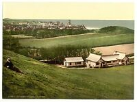 2 Victorian Views Cromer Cliffs Beach Golf Club House Repro Old Photos Posters