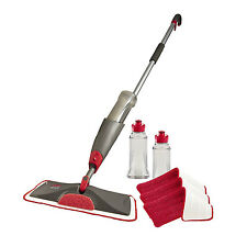 Rubbermaid Reveal Spray Mop Value Kit (Comes with 3 Cleaning Pads & 2 Bottles)