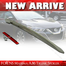 STOCK IN LA! NEW 2016UP FOR NISSAN MAXIMA A36 8th 4DR Sedan Trunk Spoiler Wing §