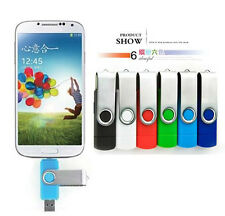 8GB Micro USB USB2.0 2.0 Pen Stick U Disk for OTG Smart phone Android Tablet PC