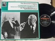 HQM 1167 TCHAIKOVSKY Symph No 4 etc BEECHAM ROYAL PO HMV MONO 1968 UK VINYL LP