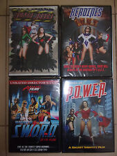 Agents of Power-Super Babes-Heroines of Sword/Fury DVDs-sexploitation-superhero