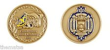 NAVY UNITED STATES NAVAL ACADEMY 1845 CHALLENGE COIN