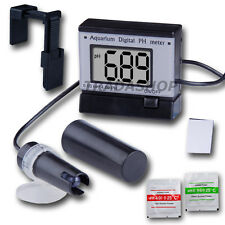 Digital pH Meter Tester Monitor 0.00-14.00 Hydroponics Aquarium ATC