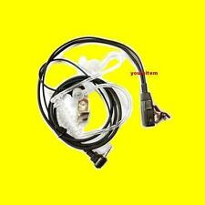 High Quality Police PTT Earpiece Headset Mic for Motorola Talkabout Radio 1 pin