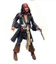 """Disney Pirates of the Caribbean Movie JACK SPARROW 18"""" action figure with sound"""