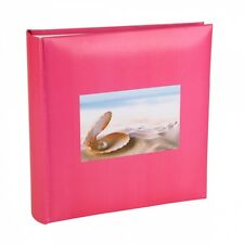 Kenro Pink Oyster Photo Album with Memo Space = 200 Photos (6 x 4) HOL113PK UK