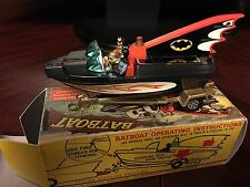 Corgi Toys 1968 Batman & Robin Batboat & ORIGINAL RARE BOX