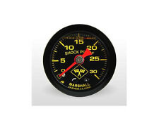 "Marshall Gauge 0-30 Psi Fuel / Oil Pressure Midnight Black 1.5"" (Liquid Filled)"