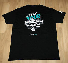 Wargaming World of Warships Tanks Promo T-Shirt from Gamescom 2016 Size L