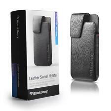 OEM Blackberry Z10 Leather Swivel Holster Case - New - Retail Packaging
