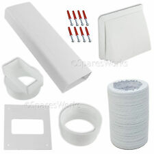 """Venting Kit For Creda Tumble Dryer Vent External Wall Outlet 4"""" 100mm White"""