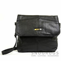 Ladies Soft Nappa Leather Shoulder / Cross Body / Clutch Bag / Purse