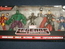 Marvel Legends Avengers Gift Set Captain America,Thor,Iron Man, Hulk,Civil War