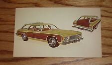 Original 1974 Chevrolet Caprice Estate Station Wagon Post Card 74 Chevy