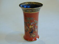 Very Rare Carlton Ware W & R Art Deco Tomato Red Lustre 'Persian' Vase #3065