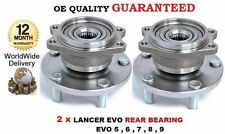 FOR MITSUBISHI LANCER EVO 5 6 7 8 9 1996--  2x REAR WHEEL BEARING HUB KIT SET