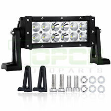 "36W 7.5"" LED WORK LIGHT BAR FLOOD SPOT COMBO BEAM OFFROAD SUV TRUCK LAMP JEEP"