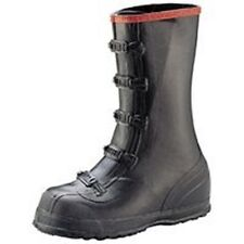 NEW NORCROSS T369 SIZE 12 OVERSHOE 5 BUCKLE BLACK RUBBER QUALITY WORK BOOTS SALE