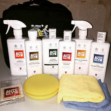 Autoglym Bodywork Wheels & Interior Complete Valeting Collection Kit - Black Bag