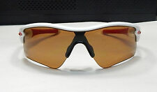 Oakley Men Sunglasses:  Radar Range - Polished White - Bronze Polarized