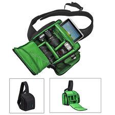 DSLR SLR Digital Camera Case Backpack Shoulder Sling Bag For Canon Nikon Sony BL
