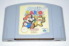 PAPER MARIO Nintendo 64 Spiel