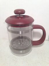 La Cafetiere French Press Coffee 4 Cup Glass Heat Resistant United Kingdom
