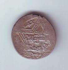 Crusader 1186-1216 AD Imitation of al-Salih Islamic Script AR Dirham Coin P-680