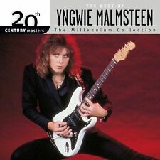 YNGWIE MALMSTEEN 20th Century Masters Millennium Collection Best of CD