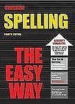 Spelling the Easy Way (Easy Way Series)-ExLibrary