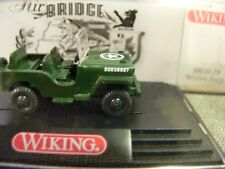 1/87 Wiking Willys Jeep Air Bridge Berlin 101 01 B