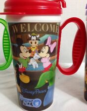Lot 3 Disney Parks RAPID-FILL Hot Cold Refillable Insulated Cup Mug